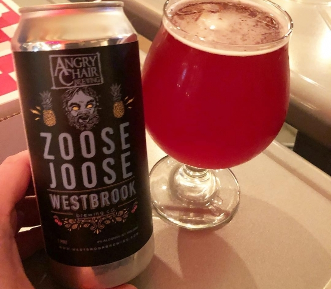 Zoose Joose by Westbrook & Angry Chair Brewing