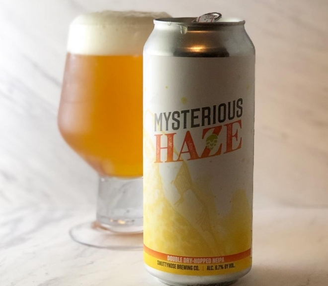 Mysterious Haze DDH NEIPA by Smuttynose Brewing Co.