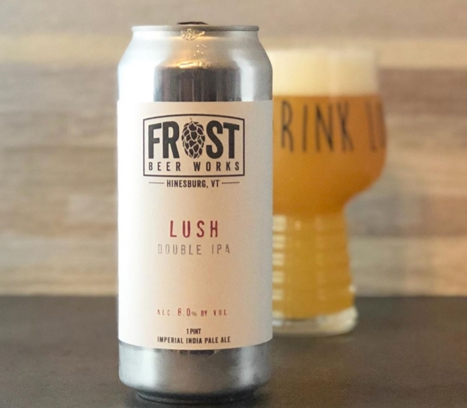 Lush Double IPA by Frost Beer Works