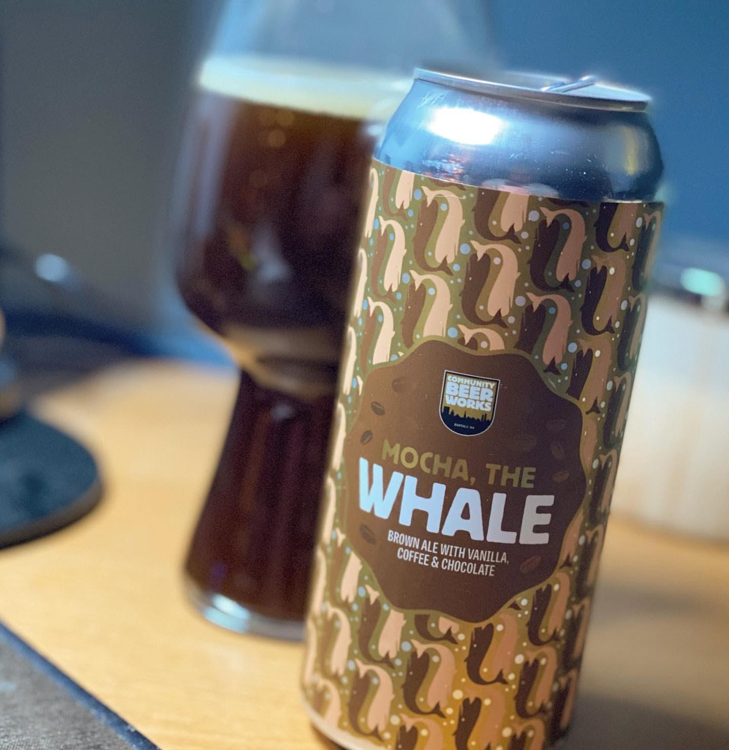 Mocha the Whale